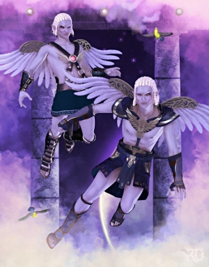 geminitwins_painted_by_ravenmoondesigns-d9px9bl.jpg