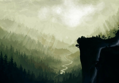 landscapes nature forest valley fantasy art painted artwork drawings 2000x1400 wallpaper_www.wallpaperhi.com_7.jpg