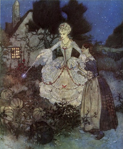 Edmund Dulac - Picture Book for the Red Cross - Cinderella.jpg